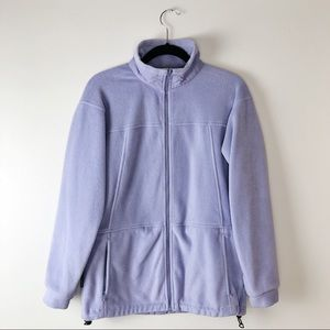 Columbia Core Interchange Lavender Fleece Jacket S